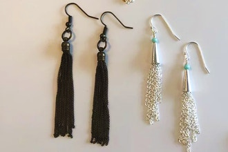 Chain Tassels: Make your own Tassel Earrings