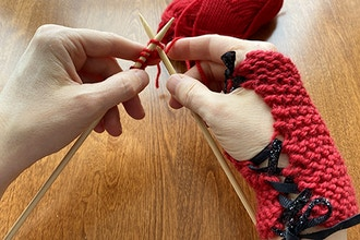 Virtual Beginning Knitting