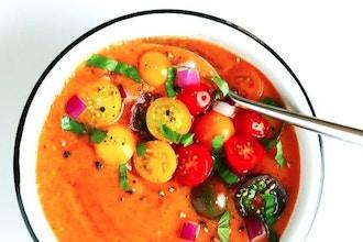Soup + Salad   For Vegetarians