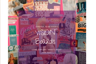 Discover Your Next Chapter: Vision Board Workshop