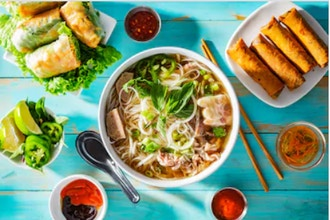 A Taste of Vietnam: Spring Rolls and Pho Noodle Soup