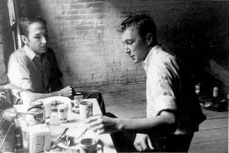 Robert Rauschenberg & Jasper Johns (Lesson & Painting)