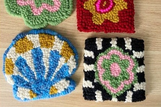 Punch Needle Rug Hooking — Materials Included