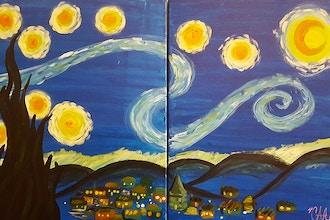 Couples, Singles or Bffs—Van Gogh Starry Night