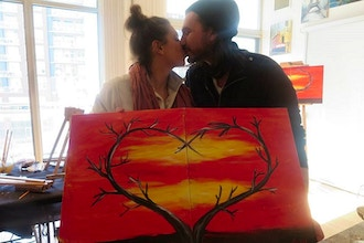 Sweetest Day Couples Painting
