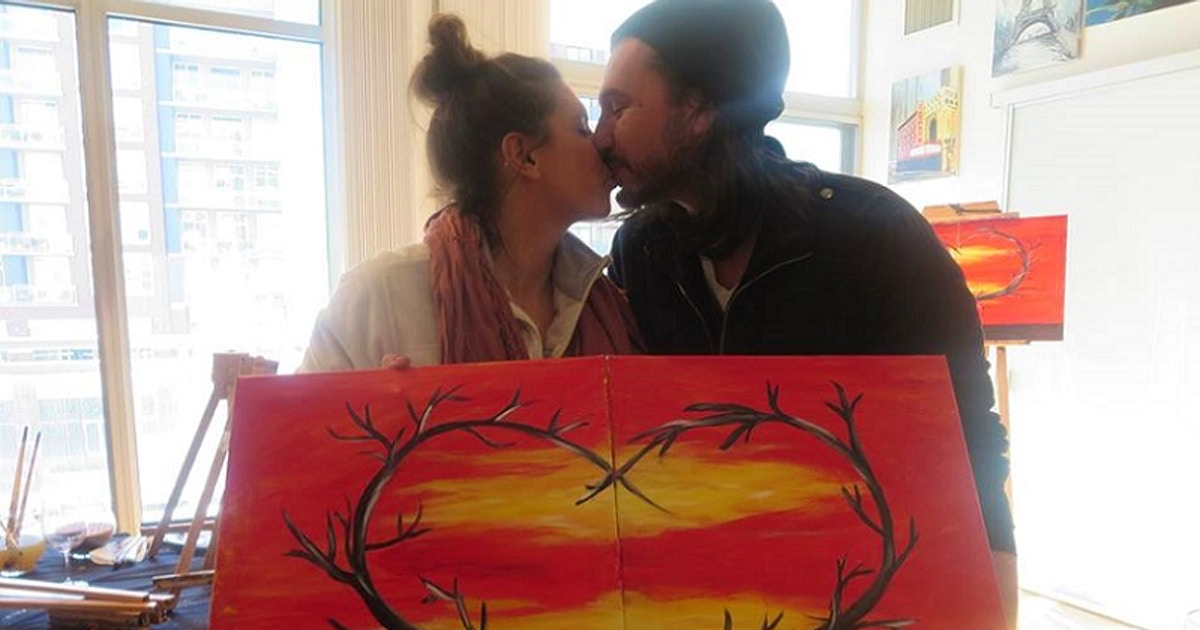 Couples Virtual Date Night - Painting Classes Chicago ...