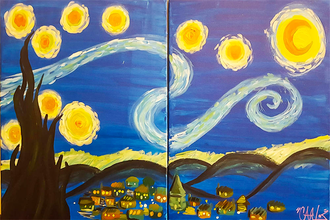 Couples, Singles or Bffs—Van Gogh Starry Night