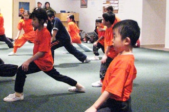 Kid's Kungfu (Ages 3-5 yrs)