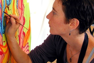 Online Painting: A Weekend with Stewart Cubley