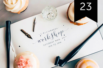 Beginners Calligraphy at Craft