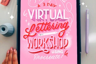 3 Day Virtual Lettering Workshop