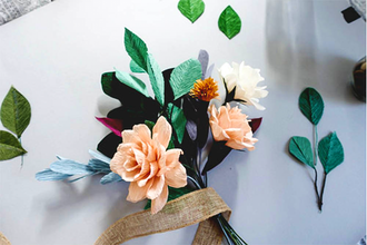 Beyond Fresh Floral Paper Flowers Crafts Classes New York