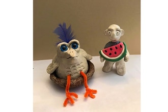Creating with Clay (Ages 6 and up)