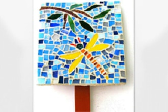 ​Saturday Mosaic Workshop: Garden Marker