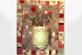 ​Saturday Mosaic Workshop: Mosaic Cup Holder