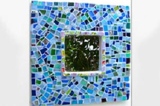 Saturday Mosaic Workshop: Mosaic Mirror