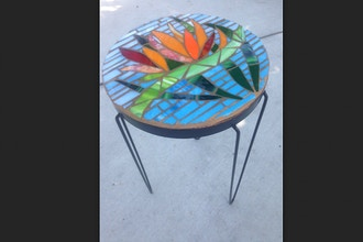 ​Saturday Mosaic Workshop: Side Table