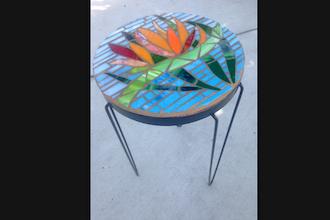 Saturday Mosaic Workshop: Side Table
