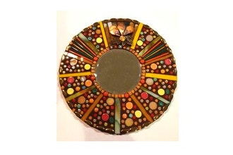 ​Saturday Mosaic Workshop: Round Mosaic Mirror