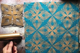 Block Printing for Fabric