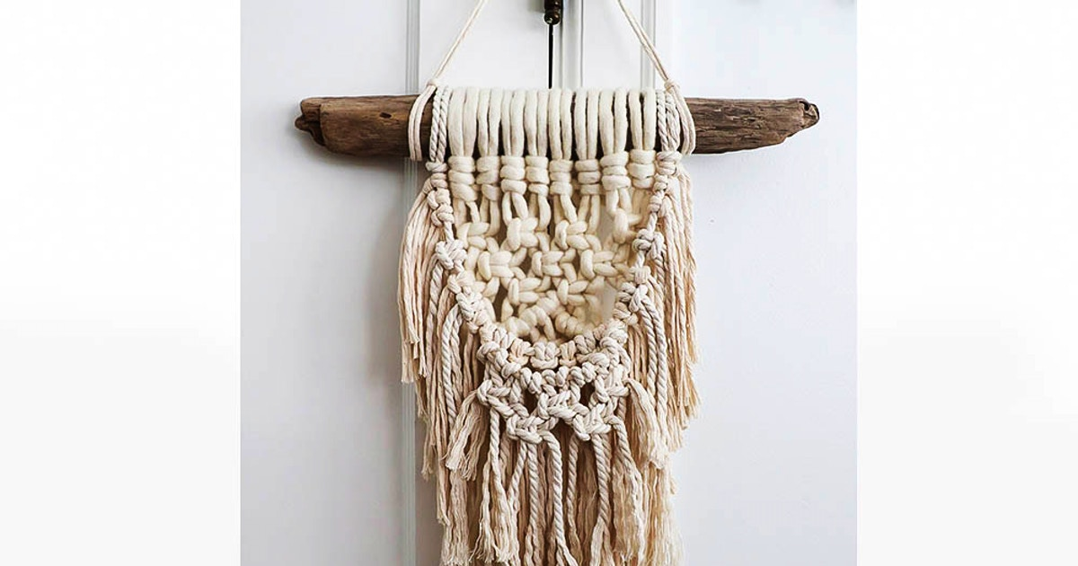 Macrame Wall Hanging - Crafts Classes Los Angeles
