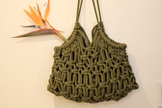 Macrame Handbag/ Tote (Virtual)