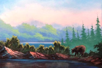 Paint a Bob Ross Oil Landscape