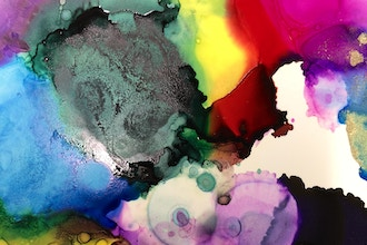 Color Worship - Ink Dripping Art