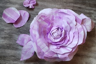 Creating Paper Flowers-Online