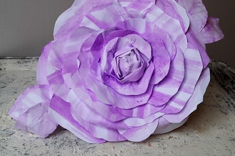 Handmade Flowers from Found Objects