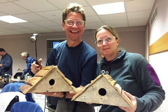 Woodcraft Workshop: DIY Reclaimed Birdhouse