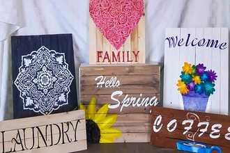 Painted Wood Signs