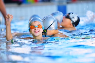 Group Swimming Lessons for Kids ( Ages 7+)