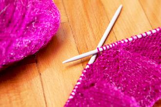 Knitting (Beginning)