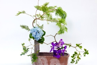 Ikebana: Japanese Art of Flower Arrangement (Beginner)