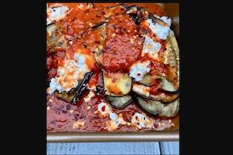 Mama Parmesana's Eggplant and Chicken Parm