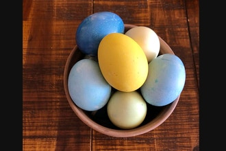 Make Your Own AT Home: Naturally Dyed Eggs