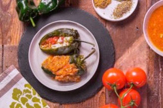 Green Chile and Chile Rellenos