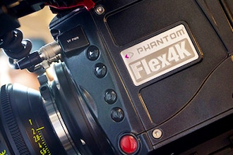 Phantom Flex4K Intensive Workshop