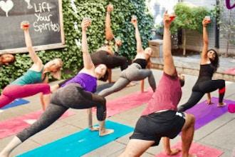 Drunk Yoga Classes Nyc New York