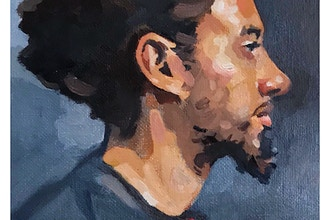 Portrait Painting - NOW ONLINE Instructed Open Studio
