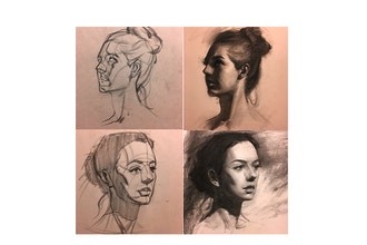 Beginning Portraits in Charcoal  - NOW ONLINE