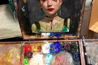 Beginning Oil Paint NOW ONLINE Instructed Open Studio