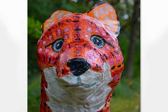 ​Plaster Cloth Animal Workshop