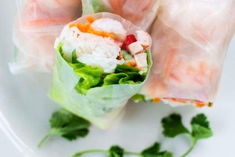 Couples Cooking: Northwest Spring Rolls