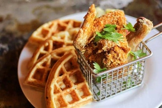 Online Cooking: Chicken and Waffles