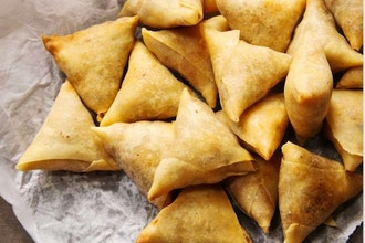 Couples Cooking: Savory Indian Samosas