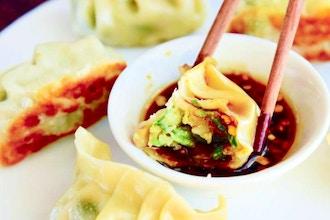 Online Cooking: Homemade Asian Dumplings