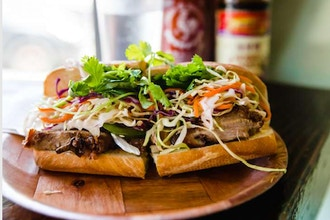 Couples Cooking: Intro to Vietnamese Bahn Mi