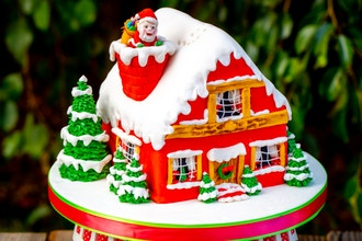 Parent and Me Cake Class – Christmas House
